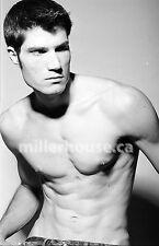 Lenox Fontaine Original B&W 35mm Film Negative Male Model Gay Interest Photo #31