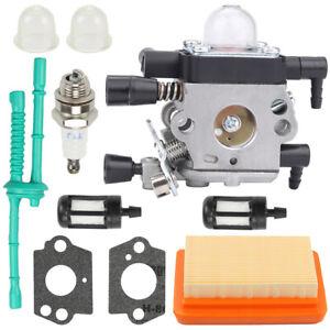 Carburetor kit for Stihl MM55 MM55C Zama C1Q-S202A Tiller Trimmer 4601-120-0600