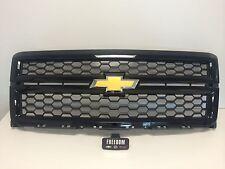 GM 23235956 2014-15 SILVERADO 1500 BODY COLORED GRILL BLACK  W/ BLACK MESH GBA