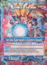 Dragon Ball Super ! Son Goku Super Saiyan 3, évolution croissante BT3- 032 UC VF