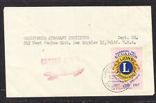 Ecuador 1967 Air Letter Ambato to Los Angeles