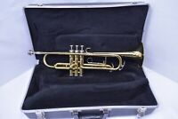 King 600 Bb Student Trumpet with case, mouthpiece SN 269958