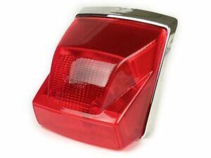 Vespa PX 125 150 200 Disc Model - Red Rear Brake Light Unit with Chrome Surround