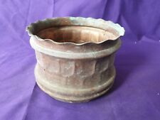 Vintage Copper Planter. Plant Pot Holder. Garden. Jardienier. House Plant.