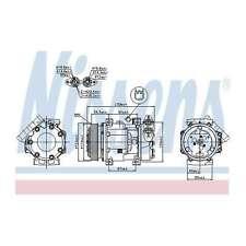 Fits Ford Fiesta MK5 1.6 TDCi Genuine OE Quality Nissens A/C Air Con Compressor