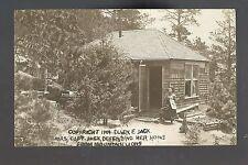 Colorado Springs CO RP 1909 MRS. CAPT. JACK Ellen MINING QUEEN Miner Pistol
