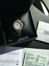 Seiko Le Grand Sport Ladies wrist watch complete with papers