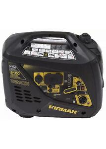 FIRMAN W01781 Portable Inverter Generator, 1700/2100-Watt, 10 Hour Run Time -