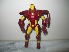 """MARVEL LEGENDS IRON MAN UNLEASHED 8"""" INCH FIGURE 2008 28 POINTS OF ARTICULATION"""