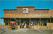 Bayless Cracker Barrel Country Store pm 1960 Postcard Phoenix Arizona AZ