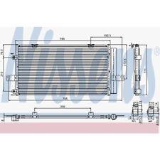 Nissens Kondensator, Klimaanlage Rover 75,75 Tourer. MG 94652