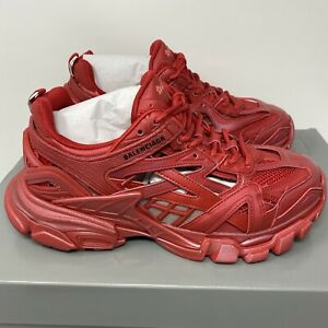 Balenciaga Track.2 Men's Sneakers Red Size 40 EU / 7 US