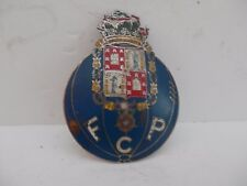 F.C.P. Futebol Clube do Porto.Portugese Football Club Car Club Badge.
