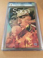 Saga #1 CGC 9.8 Retailer Incentive Edition Image Comics RRP