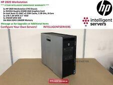 HP Z820 Workstation  2x E5-2667V2 2.20GHz 128GB  1TB HDD  256GB SSD Quadro K5000