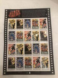 Scott 4336-4340 42¢ Vintage Black Cinema MNH