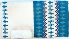 California Custom Hand Loomed Cactus Weave Show Saddle Blanket Pad 32 x 36 in