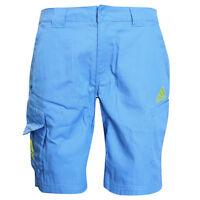 Adidas Performance Outdoor Casual Fitness Mens Cargo Shorts Blue AA6954 UA37