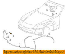 Cadillac GM OEM 04-09 XLR Headlight Head light lamp Washer/wiper-Nozzle 12335754