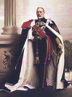 Painting Portrait Lander King George V England Canvas Art Print