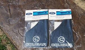 Mercury Cougar Splash Guards Set of 4 Mud Flaps E3WY16A550-A NOS OEM Ford FOMOCO