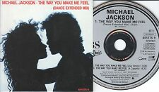 Michael Jackson CD-SINGLE THE WAY YOU MAKE ME FEEL   (c)  1987  CARDSLEEVE