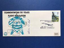 BRITISH AIRWAYS CONCORDE 10th Anniv Edwin A Link Signed FLIGHT SIMULATORS 1979