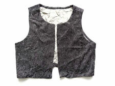Polyester Plus Size Vintage Waistcoats for Women