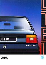1988 VW Volkswagen Jetta 28-page French Original Car Sales Brochure Catalog