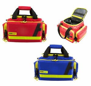 Notfalltasche HUM AEROcase® RBS-1  ROT o. BLAU (Feuerwehr First Responder Arzt)