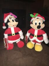 Mickey & Minnie Mouse Just Play Dolls Animated We Wish You A Merry Christmas