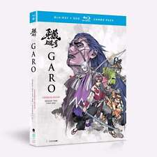 Garo: Crimson Moon Season 2 Part 1 (BD/DVD, 2017, 4-Disc Set)
