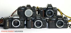 5 Nikon Spiegelreflexkameras * Ungeprüft - Für Bastler