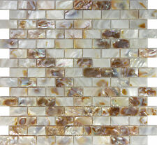 1SF Mother Of Pearl Sea Shell Subway Brick Mosaic Tile Kitchen Backsplash Shower