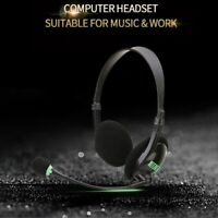 3.5MM Audio Headset Computer Headsets with 270 Degree Boom Mic Suitable for X4P8
