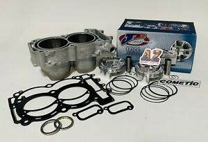 RZR XP 900 XP900 96 935cc Big Bore Cylinder JE 8:1 Turbo Pistons Cometic Gaskets