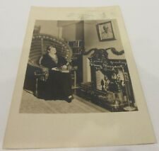 1940 Mary Margaret McBride First Lady of Radio RPPC Grand Central Annex Cancel