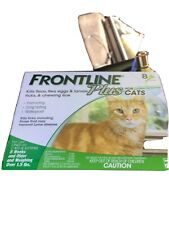 FRONTLINE PLUS FLEA AND TICK CONTROL FOR CATS OVER 1.5 LB 8 MONTH -VALUE PACK