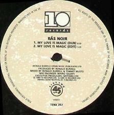 BAS NOIR - My Love Is Magic - Ten
