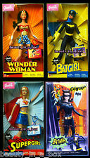 Wonder Woman Barbie Doll  Batgirl Supergirl 2003 Super Hero Catwoman DC ComicsD3