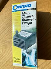 Mini-Zimmer-Brunnen-Pumpe Conrad