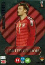 Panini Adrenalyn XL World Cup 2018 Russia WM Limited Edition Manuel Neuer