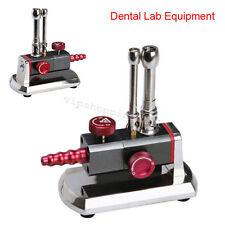 Bunsen Burner Double Tube Rotatable Gas Propane Light Dental Lab Instrument TOP