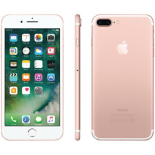 Apple iPhone 7 Plus 128GB A1661 GSM Unlocked Smartphone-Rose Gold-Great