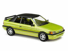 Busch 45708 Ford Escort Cabrio geschlossen grünmetallic 1:87 Neu