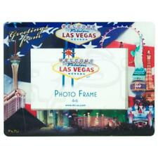 American Flag Las Vegas Strip Design Picture Frame