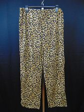 Ralph Lauren Sleepwear, Young Royals Animal Print Pajama Pants Large #1459