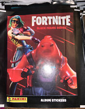 Panini Fortnite Black Frame Series Sticker Collection  50  Sealed Packets