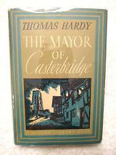 ~The Mayor of Casterbridge by Thomas Hardy Modern Library Book 1950 HC/DJ Y