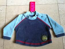 Oilily 3 Months Cotton Velour Long Sleeve Top Boy-Girl NWT